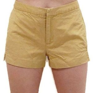 J.CREW Tan Khaki Sturdy Cotton Pocketed Shorts